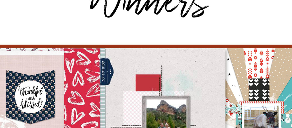 7 DAYS TEMPLATE CHALLENGE  | WINNERS