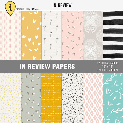 In Review - Papers
