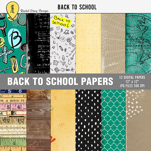 Back To School Papers