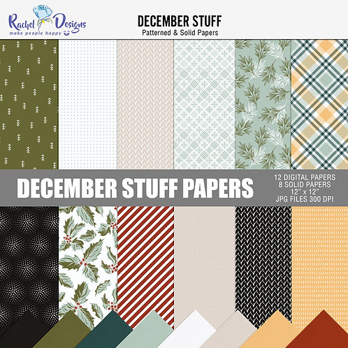 December Stuff - Papers