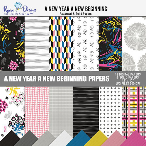 A New Year A New Beginning - Papers