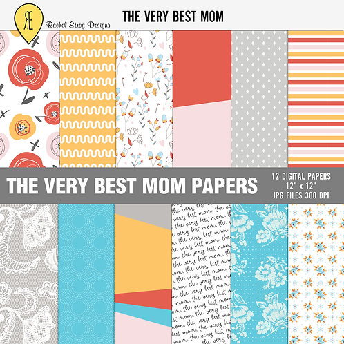 The very best mom - Papers