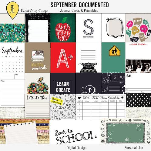 Septembre Documented