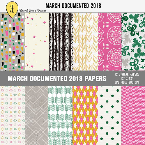 March Documented 2018 - Papers