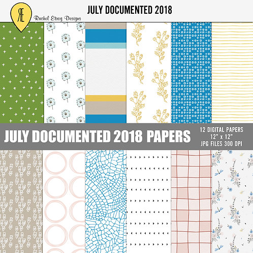 July Documented 2018 - Papers