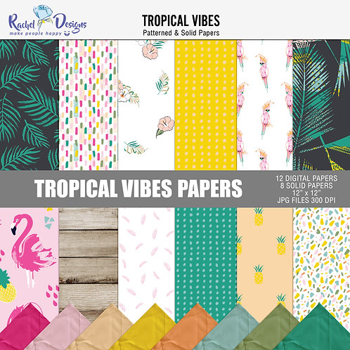 Tropical Vibes - Papers