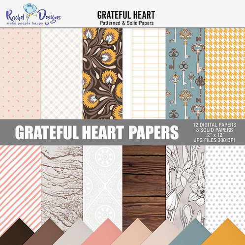 Gratiful Heart - Papers