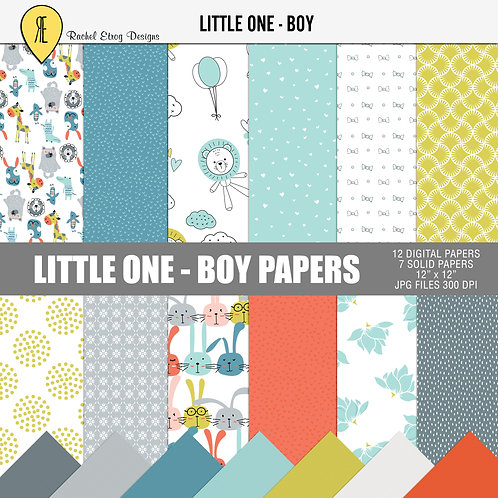Little one Boy - Papers