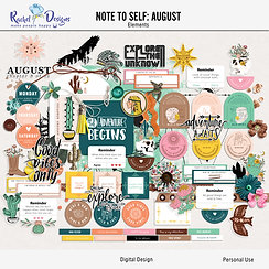 Note To Self August - Elements
