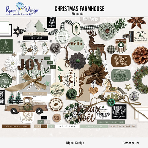 Farmhouse Christmas - Elements