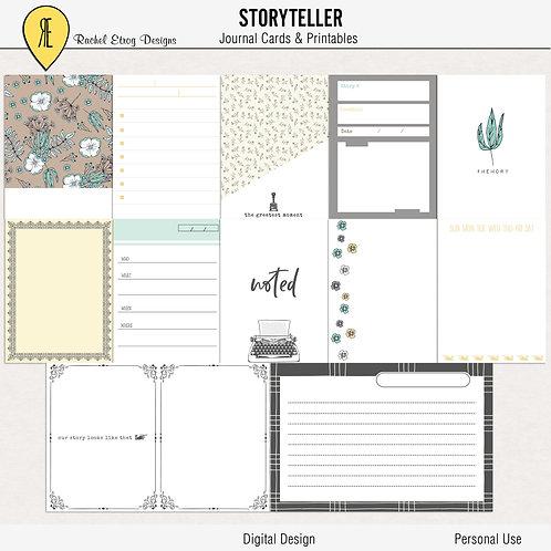 Storyteller  - Journal cards
