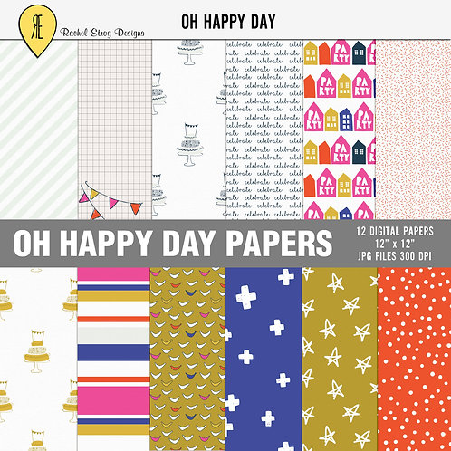 Oh Happy Day - Papers