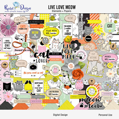 Live Love Meow - Kit