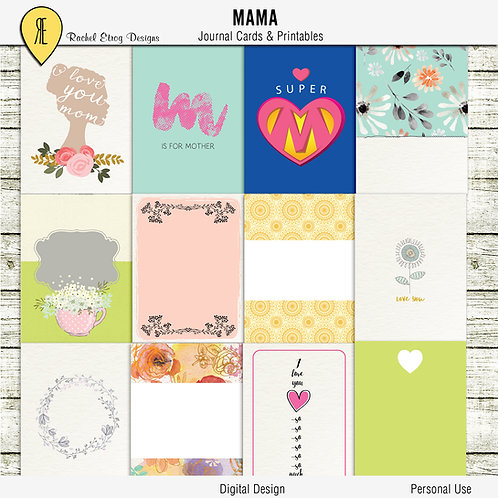 Mama Journal Cards