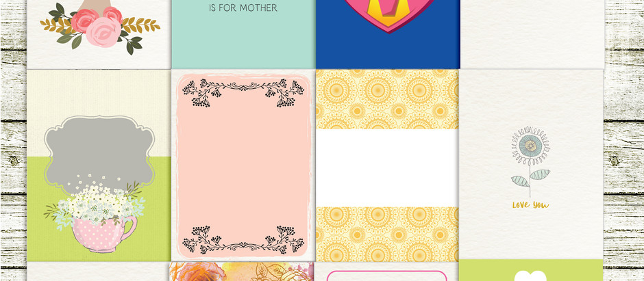 Mama - Journal cards