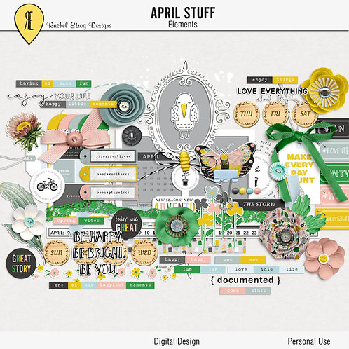 April Stuff - Elements