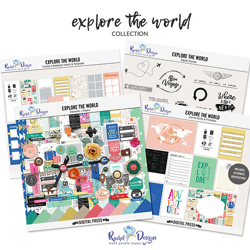 Explore The World - Collection