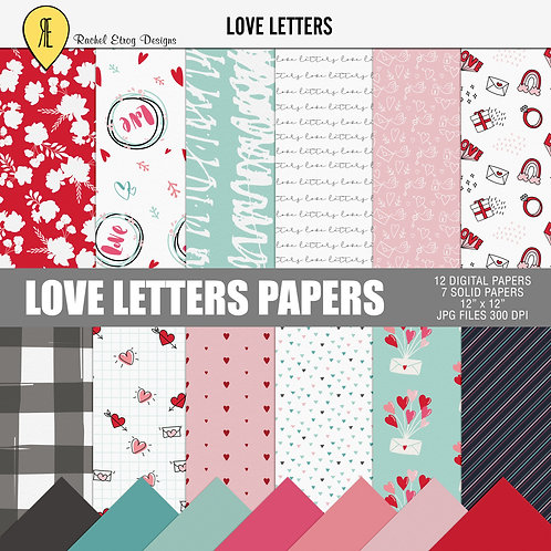 Love letters- Papers
