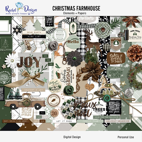 Farmhouse Christmas - Kit