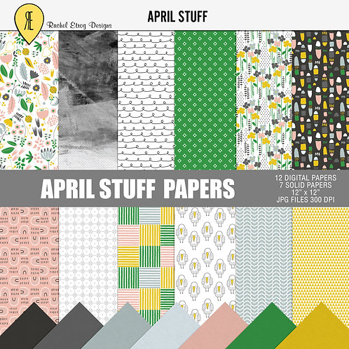 April Stuff - Papers