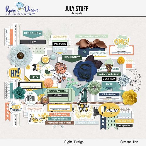 July Stuff - Elements