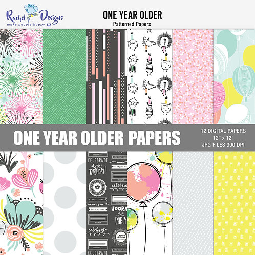 One Year Older - Papers