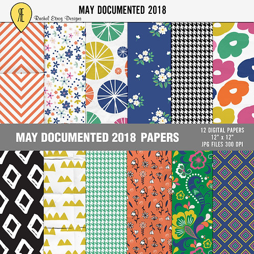 May Documented 2018 - Papers