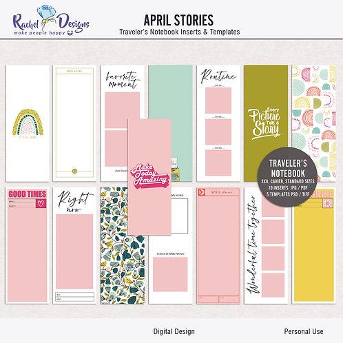 April Stories - Traveler's Notebook
