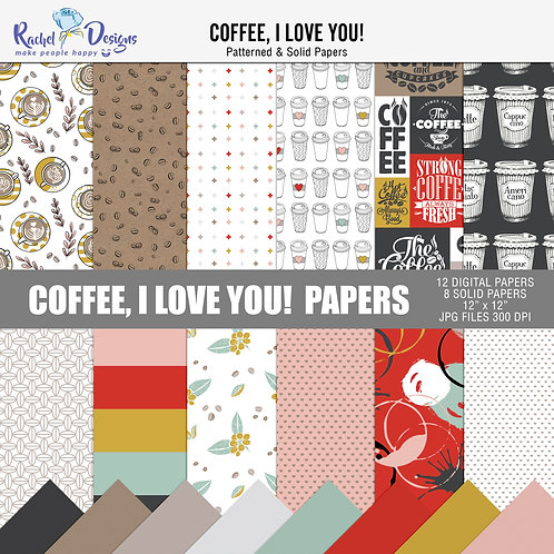 Coffee I Love You! - Papers