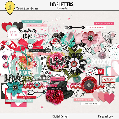 Love letters - Elements