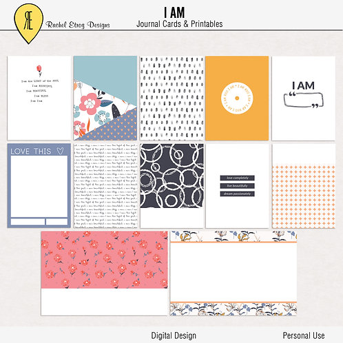 I AM - Journal cards