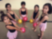 rhythmic gymnastics girls