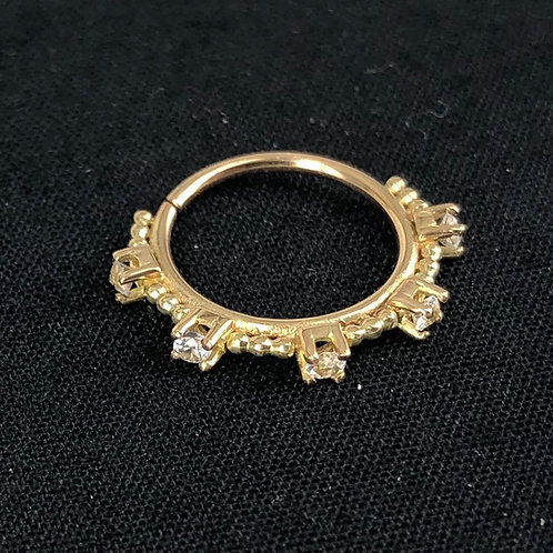 Five prong ring