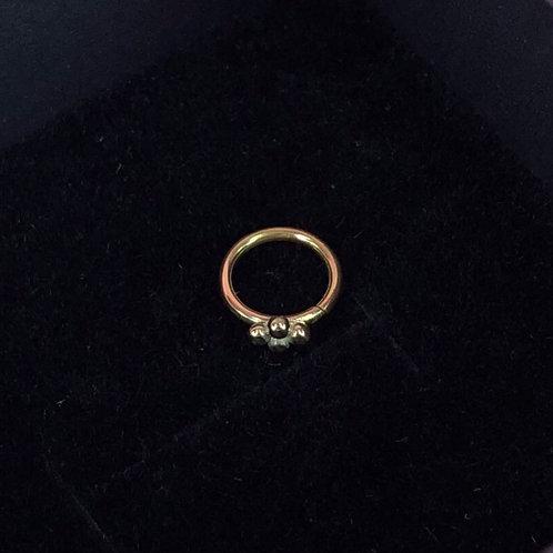 Fourbead seam ring