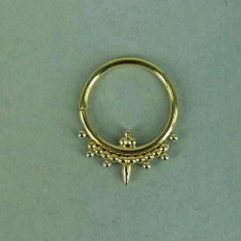 Ornamental spike ring