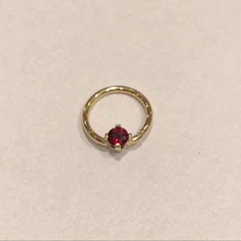 Fixed prong ring