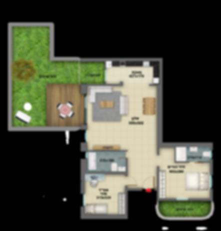 דירת גן 3 חדרים למכירה