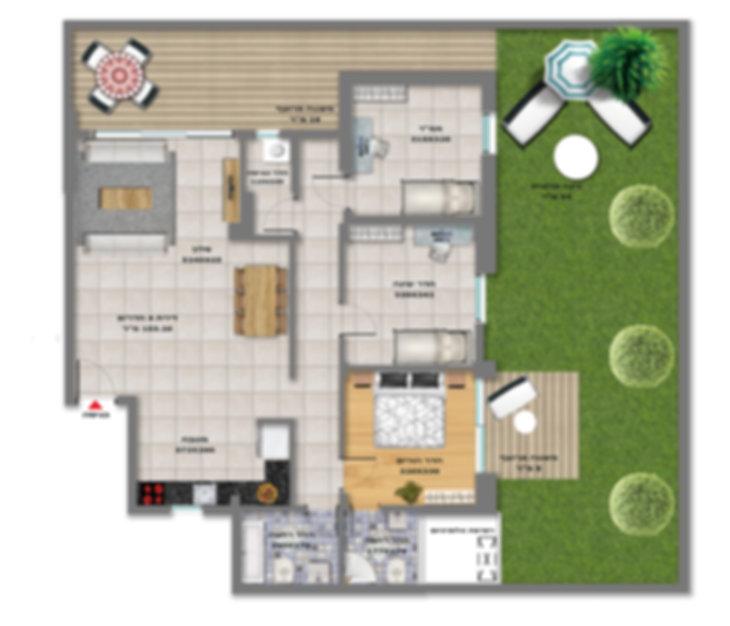 דירת גן 4 חדרים למכירה