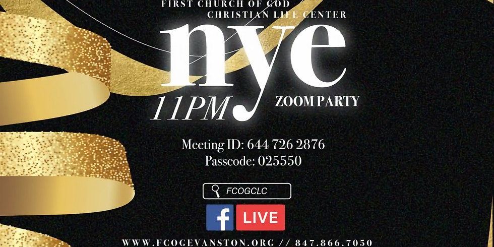 Virtual New Year's Eve Party