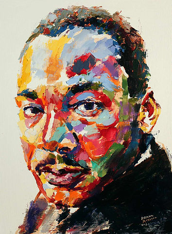 Martin-Luther-King-Jr-Original-Acrylic-O