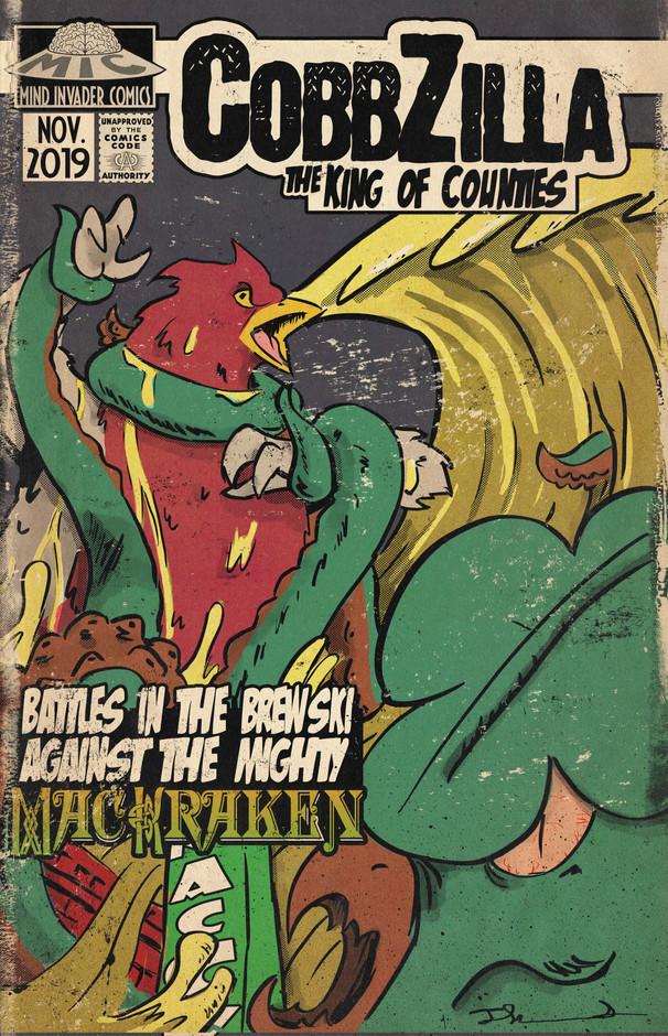 Battle In The Brewski: CobbZilla vs. MacKraken