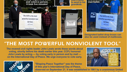 CCPJ, nonviolence & early voting