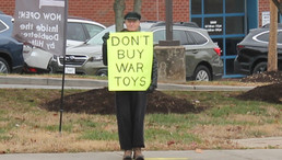 Buy peaceful toys for the holidays
