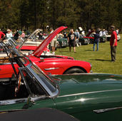Popular Car Show at the Bend, OR Rendezvous, June 2014.