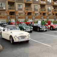 Another NW Healey Meet. This was at Squamish, B.C. north of Vancouver, B.C.