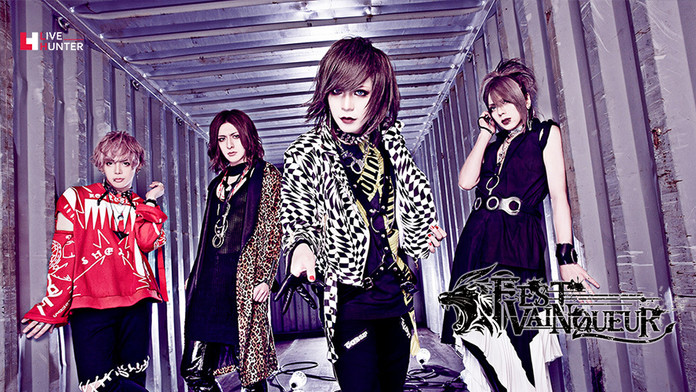 FEST VAINQUEUR「GEBERATION2~7colors~」Interview From LIVE HUNTER