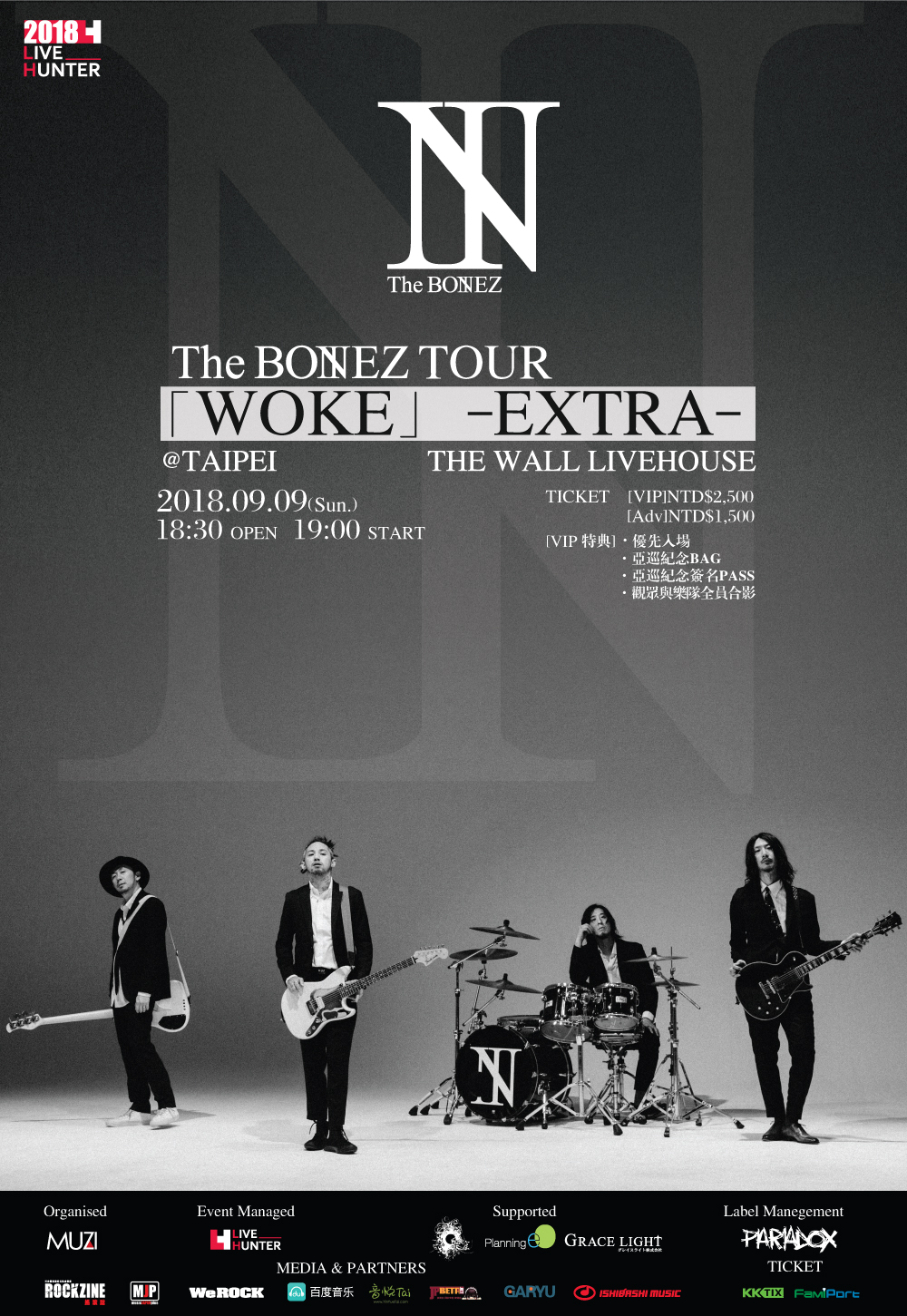 The BONEZ TOUR 「WOKE」 -EXTRA-TAIPEI
