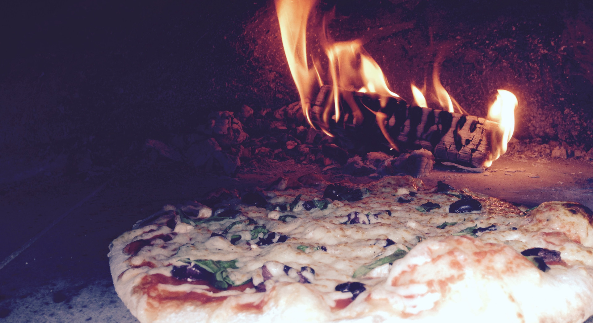 Wodd fired pizza