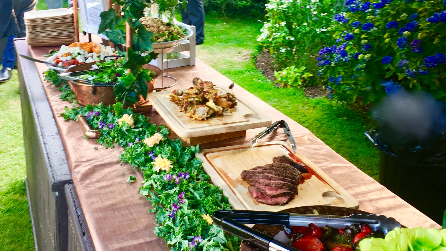 Wedding buffet caterers Hampshire