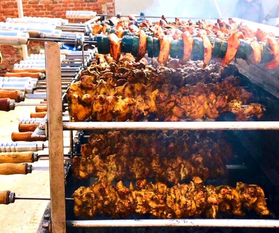 Churrasco cooking Surrey